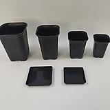 롱사각플분-검정, 롱사각플라스틱화분, 롱사각플분, 플라스틱화분,플분,튼튼화분,사각플분,슬릿분,하월시아|