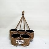 코코넛5구식물벽걸이(식물10cm)|