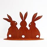 스틸데코 토끼 삼형제 빈티지제품|