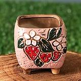 수제화분 딸기분1(핑크)|