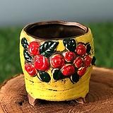 수제화분 딸기분3(옐로우)|