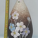 분청야생화꽃화병-도자기/국산/조은다육/인테리어 소품|