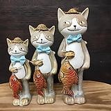 고양이 도자기 3p세트-8957|