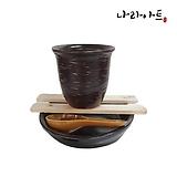 콩나물재배기키트-물방울 2호/콩나물재배기/옹기재배기/옹기화분/옹기수반/나라아트|