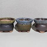 원형분청모래화분(색상랜덤, 1개당가격임)-다육화분/조은다육/국산/도자기 
