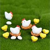 테라리움 화분 정원 악세사리-미니 꼬꼬닭 병아리 set|