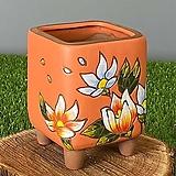 수제화분 꽃담분10(오렌지)|