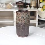 중형 날씬이 원기둥(파랑꽃비) - 최고급 수제 화분 예쁜화분 다육화분 베란다화분 개업화분 특이한화분 선물화분 토어도예-TM-원형 인아트스튜디오|