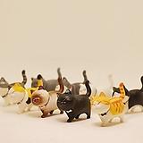 화분 꾸미기 고양이 피규어 9종|