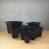사각플분 B타입 1호-8호 튼튼화분 사각플라스틱화분|