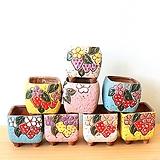 (연꽃그릇) 로티니딸기농장 수제다육화분 |