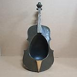 인테리어 마블[바이올린] 화분(대)/악기마블/인테리어화분|