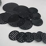 플라스틱 원형 루바판 배수 깔망|