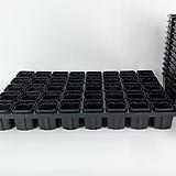 40구 플라스틱 화분 연결 트레이 물결 사각플분|