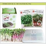(아시아종묘/재배기) 다용도재배용기 + 씨앗2종(각 30g) 