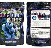 블루베리 전용비료(멀티블루)200g/블루베리/영양제/코팅비료 |Myrtillocactus geometrizans cv. fukurokuryuzinboku