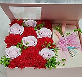 카네이션비누 꽃2  핑크 용돈박스 어버이날 스승의날선물용|