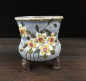 큰사이즈,최고급작가국산수제화분-4460|Handmade Flower pot