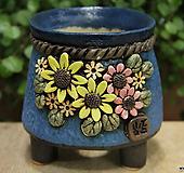 수제화분 봄날공방 둥근분 Handmade Flower pot