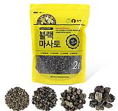 블랙마사토2리터/흙/분갈이/난석/휴가토/화산석/난화분/세척마사토/상토/비료/배양토|