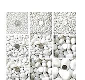 백자갈1kg/흰돌/자갈/옥돌/흑자갈/색돌/색모래/칼라스톤/조경/화산석/원예장식|