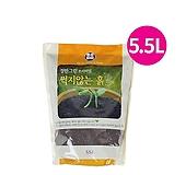 썩지않는흙5.5/초보자만능흙/배양토/분갈이흙/마사토/난석/상토/퇴비/비료/자갈/부엽토/모래|