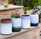수제화분 투톤2 (4color) Handmade Flower pot