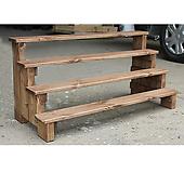 다육이화분정리대 다육이진열대 천연목재사용 다육이선반 (무료배송)|