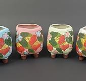 수제화분 한딸기|Handmade Flower pot