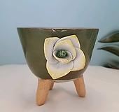 수제화분164(록운-꽃)|Handmade Flower pot