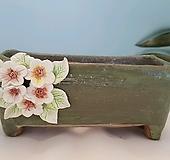 수제화분167(록운-들꽃)|Handmade Flower pot