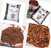 가벼운흙 코코피트 허스크칩 분갈이흙 흙 코코칩 코코넛바크 곤충바닥재 바크대용|