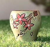 수제화분 바람꽃2(연두D) Handmade Flower pot