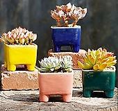 수제화분 심플사각 Handmade Flower pot