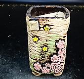 꽃사각수제화분22 Handmade Flower pot