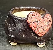 하트다육수제화분30|Handmade Flower pot