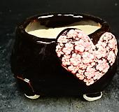 하트다육수제화분34|Handmade Flower pot