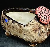 꽃신다육수제화분42|Handmade Flower pot
