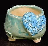 하트다육수제화분45|Handmade Flower pot
