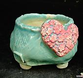 하트다육수제화분47|Handmade Flower pot