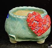 하트다육수제화분49|Handmade Flower pot