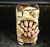 대롱장미사각수제화분50|Handmade Flower pot