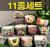 수제화분 패랭이(11종세트) Handmade Flower pot