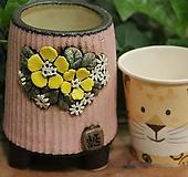 봄날공방 수제화분 둥근긴분|Handmade Flower pot